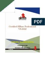 HBase Certification