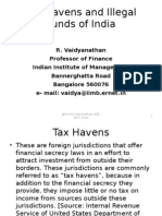 Tax Havens and Illegal Funds of India