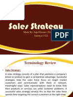 Sales Strategy