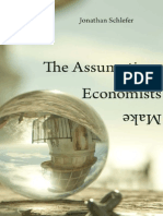 Schlefer 2012 Assumptions Economists Make