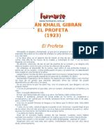 EL profeta = KALIL GIBRAN.doc