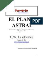 El Plano Astral = LEADBEATER.doc
