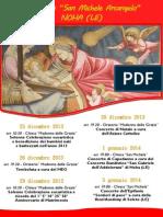 Il Natale a Noha, Programma 2013