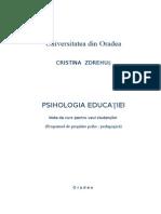 Curs Psihologie Studenti