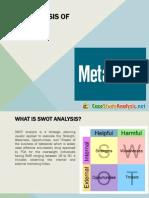Metabical Case Study Analysis