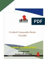 Commodity Dealer Certification