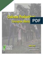 Cadenas Productivas - Diapositivas