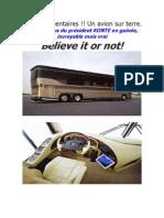 Bus du président guinéen, un avion sur terre!