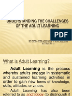 Understanding the Challenges of the Adult Learning.ppt