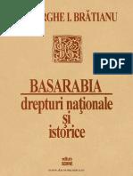 Basarabia - Drepturi naţionale şi istorice, 1995 - Gh. I. Bratianu