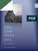 ATM Case Study Code-java