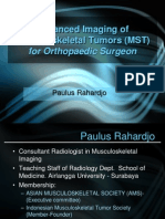 Advanced Imaging of Musculoskeletal Tumors (MST) for Orthopaedic Surgeon