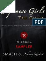 Japanese Girls - The Guide 2011 Sampler
