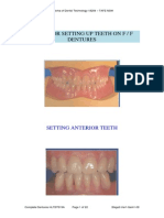 Guide for Setting Denture Teeth on F-f