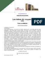 498 Rimbaud Lettres Du Voyant