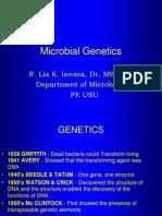 K.6 Microbial Genetics(k Lia)