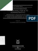 La Responsabilidad Patrimonial Por Acto Administrativo - Luis Medina Alcoz