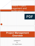 Lecture 1-Project Management Overview
