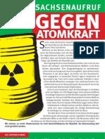 Niedersachsenaufruf gegen Atomkraft