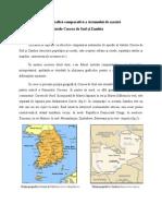 Analiza geografică comparativă a sistemului de aşezări din statele Coreea de Sud şi Zambia