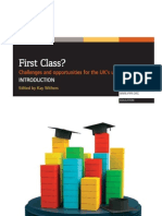 First Class? Challenges and Opportunities for the UK's university sector