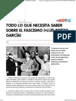 TODO LO QUE NECESITA SABER SOBRE EL FASCISMO (+LUIS BRITTO GARCÍA)