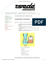 Curso básico de carburación - esedeautomocio