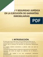 CELERIDAD Y SEGURIDAD JURÍDICA