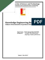 Knowledge Engineering Report