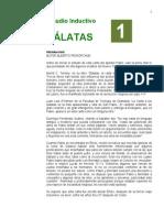 1 Gálatas -ESTUDIO INDUCTIVO