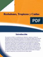 CAIDAS RESBALONES
