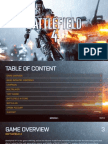 BATTLEFIELD 4 MANUAL - XBOX ONE