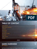 BATTLEFIELD 4 MANUAL - XBOX ONE