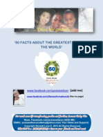 60 Facts About the Greatest Force in the World
