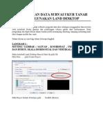 Tutorial Ukur Tanah Autodesk Land Desktop