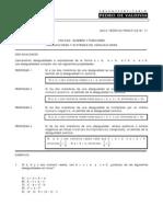 Guia 22 - Inecuaciones y Sistemas de Inecuaciones
