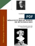 Les Aventures Du Baron de Munchhausen Edition Illustree