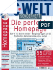 PC - PC Welt - Sonderheft - Die Perfekte Homepage