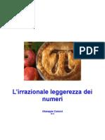 L'irrazionale leggerezza dei numeri