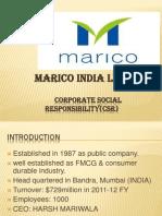 Marico CSR