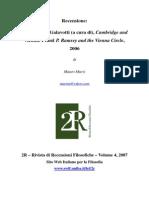 2R_Maria Carla Galavotti (a Cura Di), Cambridge and Vienna. Frank P. Ramsey and Vienna Circle__Murzi_2006