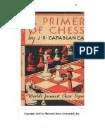 Capablanca, J.R.-a Primer of Chess (Harcourt B. J. 1935,)