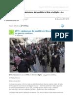 Gmail - [Nuovo articolo] 2013_ valutazione del conflitto in Siria e in Egitto – La guerra continua