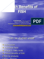 Health Benifits of Fish