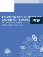 Education on the Holocaust and on Antisemitism
