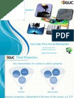 Basics of Hydromechanics - Fluid Properties