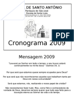 Cronograma 2009