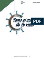 Estudios para Grupos Pequeños TOMA CONTROL DE TU VIDA