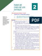 Estudio de Hechos de Los Apostoles -02