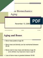 Bone Biomechanics - Aging